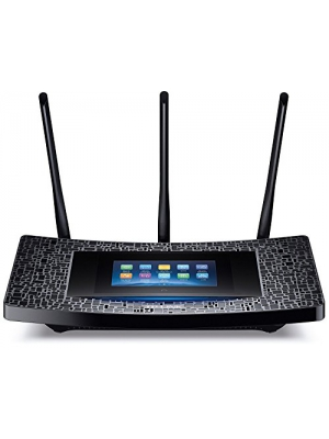 TP-Link AC1900 Wireless Wi-Fi Gigabit Router with Touch Screen Setup (Touch P5) (Certified Refurbished)