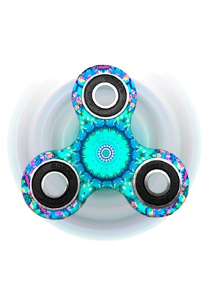 Vovomay New Hand Spinner Fidget EDC Finger Spinner Toy For Helps Focus, Stress, Anxiety Adult Children (Color P)