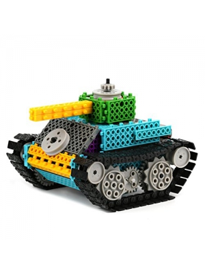 Remote Control Building Kits for Kids - Remote Control Tank Construction Set w/ 145PCS, Build Your Own Remote Control Robot Kits