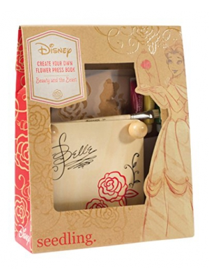 Seedling Disney's Beauty And The Beast Create Your Own Flower Press Book Kit