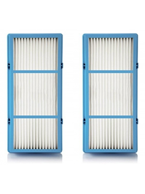 Replacement HEPA Filter Compatible With Holmes AER1 Total Air For Purifier HAP242-NUC, 2 Filters