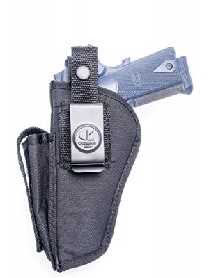 OUTBAGS USA NSC04 Nylon OWB Outside Pants Carry Holster w/ Mag Pouch. Family owned & operated. Made in USA
