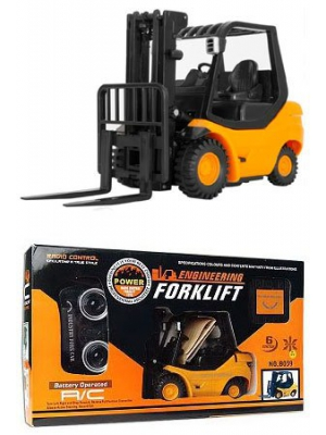 RC Forklift with Lifting Arm Radio Remote Controlled Mini Engineering Truck Industry Fork Car .
