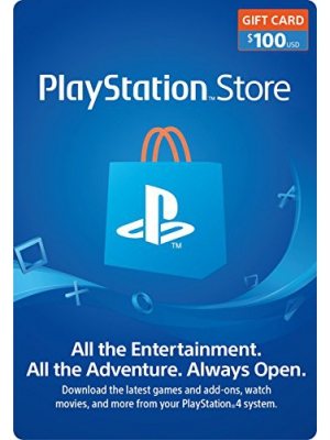 $100 PlayStation Store Gift Card [Digital Code]