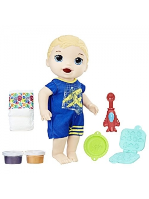 Baby Alive Super Snacks Snackin' Luke (Blond)