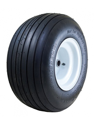"Marathon 18x8.50-8"" Pneumatic (Air Filled) Tire on Wheel, 3.25"" Centered Hub, 1"" Roller Bearing"