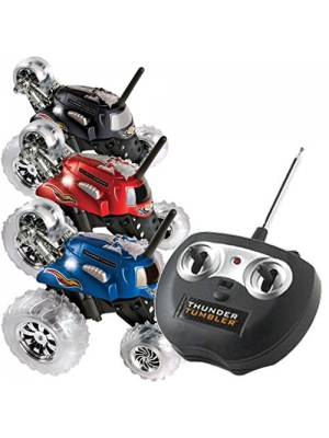 Thunder Tumbler Remote Radio Control Rally 360 Spinning Car