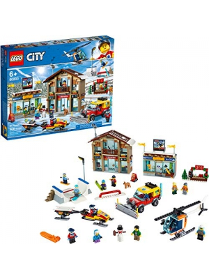 LEGO City Ski Resort 60203 Building Kit Snow Toy for Kids, New 2019 (806 Pieces)