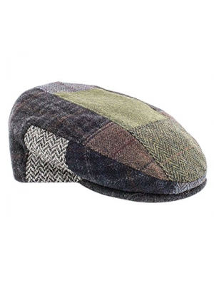 Mucros Weaver Patch Flat Cap