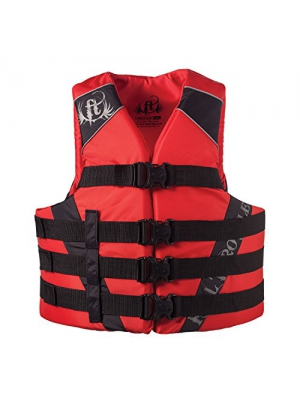 Full Throttle Adult Dual-Sized Nylon Water Sports Vest