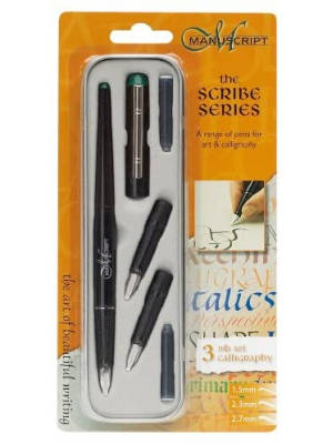 Manuscript Left Handed Nib Scribe Calligraphy Pen And Nib Set
