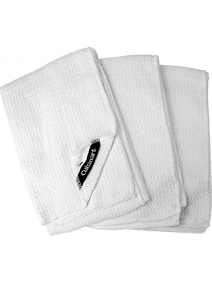 Cuisinart Cleaning Towel, Oversized, White, 3-Pack