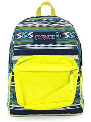 Jansport Superbreak Backpack (Navy super Stripe)