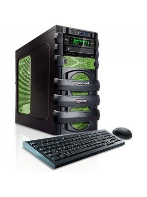 CybertronPC 5150 Unleashed IV Gaming Desktop - AMD FX-6300 3.5GHz Hexa-Core Processor, 8GB DDR3 Memory, Radeon R7 260X (1GB) Graphics, 802.11 Wireless, Fan Control Panel, DVD±RW, Microsoft Windows 8.1