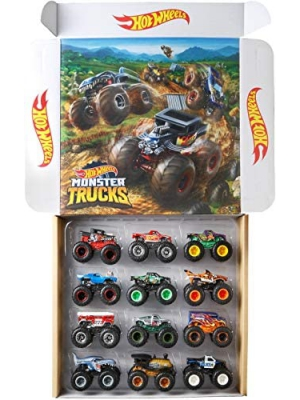 Hot Wheels Monster Trucks Ultimate Chaos 12PK 1 Vehicle
