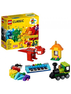 LEGO Classic Bricks and Ideas 11001 Building Kit, 2019 (123 Pieces)