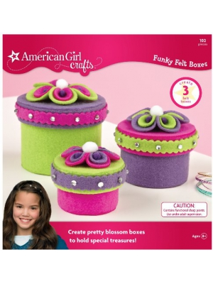 American Girl Crafts Funky Felt Box Kit