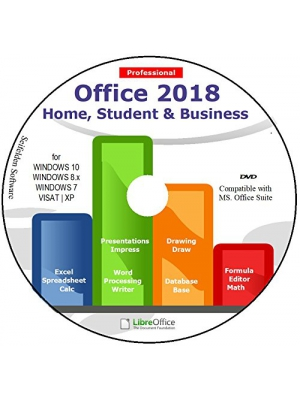 Office Suite 2018 Home Student and Business for Microsoft Windows 10 8.1 8 7 Vista XP 32 64bit| Alternative to Microsoft Office 2016 2013 2010 365 Compatible with Word Excel PowerPoint в­ђв­ђв­ђв­ђв­ђ