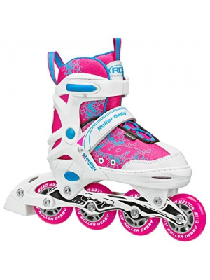 Roller Derby ION 7.2 Girl's Adjustable Inline Skates - I145G