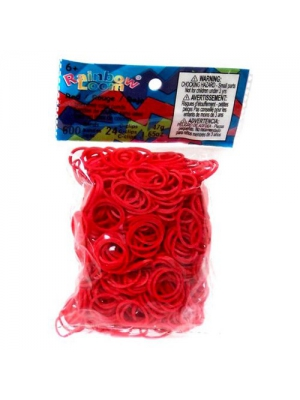 Twistz Bandz Latex Free Rubber Band Refill + C-clips - Red