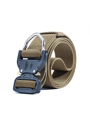 MOLLE Tactical Rigger D-Ring Waist Belt Clip Compact Rappel Universal CQB Military Web Nylon Sport 15inch Metal Buckle Mens EDC Kit Operator BDU Band