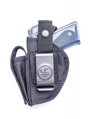 OUTBAGS USA NSC31 Nylon OWB Outside Pants Carry Holster w/ Mag Pouch. Family owned & operated. Made in USA