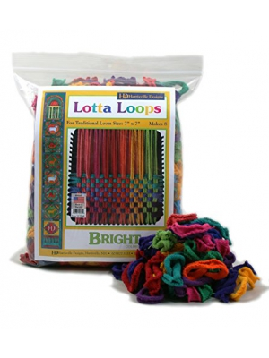 "Harrisville 7"" Bright Lotta Loops in Assorted Colors - Makes 8 Potholders"