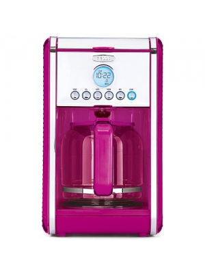 Bella Linea Collection 12-Cup Coffee Maker PINK