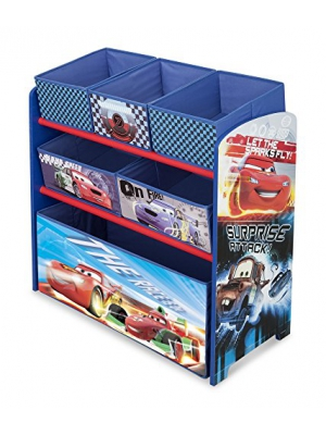 Disney Pixar Cars Multi Bin Toy Box Organizer by Delta
