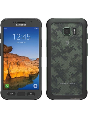 Samsung Galaxy S7 active SM-G891A 32GB AT&T Locked - Camo Green (Certified Refurbished)