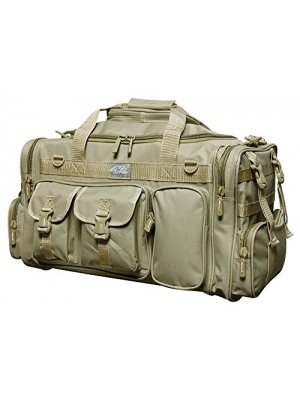 "26"" 3800cu.in. Military Molle Tactical Gear Duffle Range Shoulder Strap Travel Bag TF126 TAN"
