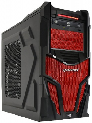 CybertronPC Shockwave II GM2223C Desktop(Red) (Discontinued by Manufacturer)