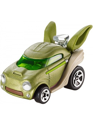 Hot Wheels Star Wars Rogue One Character Car, Yoda