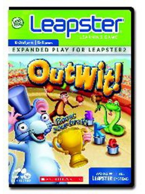 LeapFrog Leapster Learning Game: Scholastic Outwit
