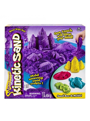 Kinetic Sand Sandbox & Molds