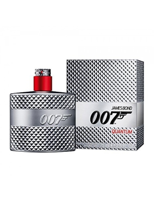 James Bond 007 Quantum Eau de Toilette Spray for Men, 2.5 Ounce