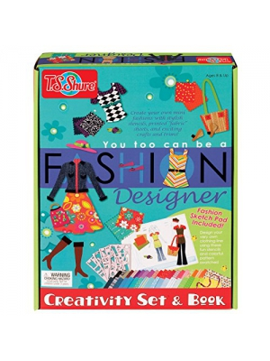 T.S. Shure You Too Can be a Fashion Designer Creativity Set & Book