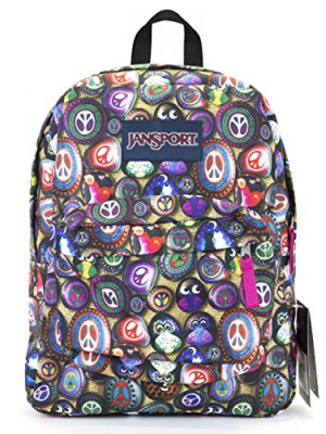 Jansport Superbreak Backpack (painted stones)