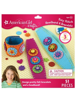 American Girl Crafts Easy Stitch Headband and Bracelets Kit
