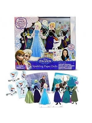 Disney Frozen Sparkling Paper Dolls by Tara Toy
