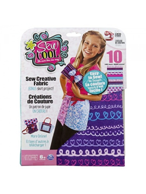 Cool Maker - Sew Creative Fabric Kit, BONUS Skirt Project (Packaging May Vary)