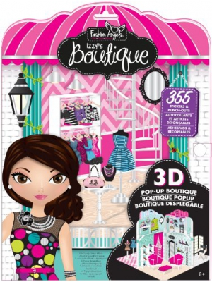 Fashion Angels Izzy's Fashion Boutique Sticker Album