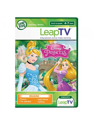 LeapFrog LeapTV: Disney Princess: Cinderella and Rapunzel Educational, Active Video Game