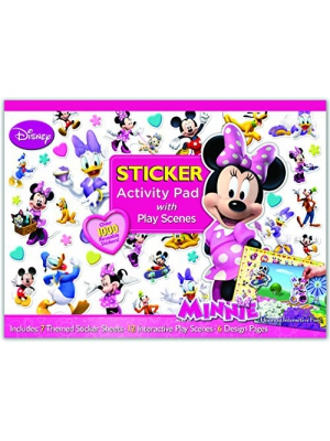 Bendon Minnie's Boutique Ultimate Sticker Activity Pad