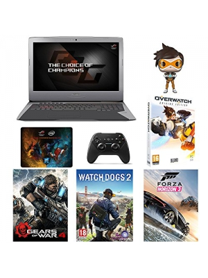"ASUS ROG G752VS 17.3"" Gaming Laptop: Core-i7, GTX1070 8GB, 1TB HDD + Gaming Bundle"