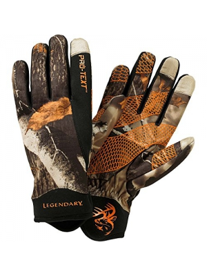 Legendary Whitetails Spider Web II Pro-Text Glove Big Game Field Camo Medium