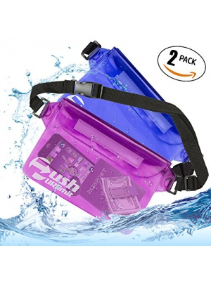 pushURlimit Waterproof Waist Pouch Set Of 2