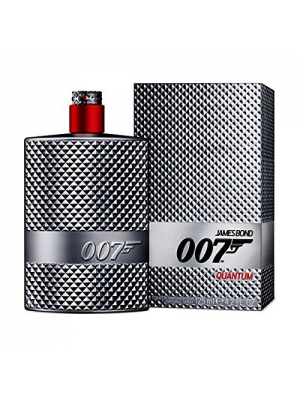 James Bond 007 Quantum Eau de Toilette Spray, 4.2 Ounce