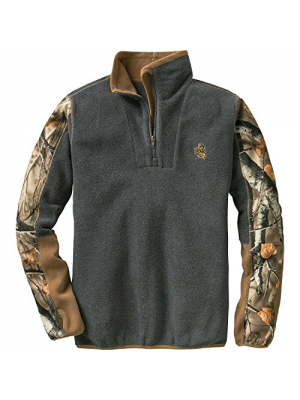 Legendary Whitetails Ladies Highlander Camo Trim 1/4 Zip