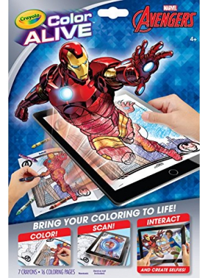 Crayola Avengers Color Alive Action Coloring Pages